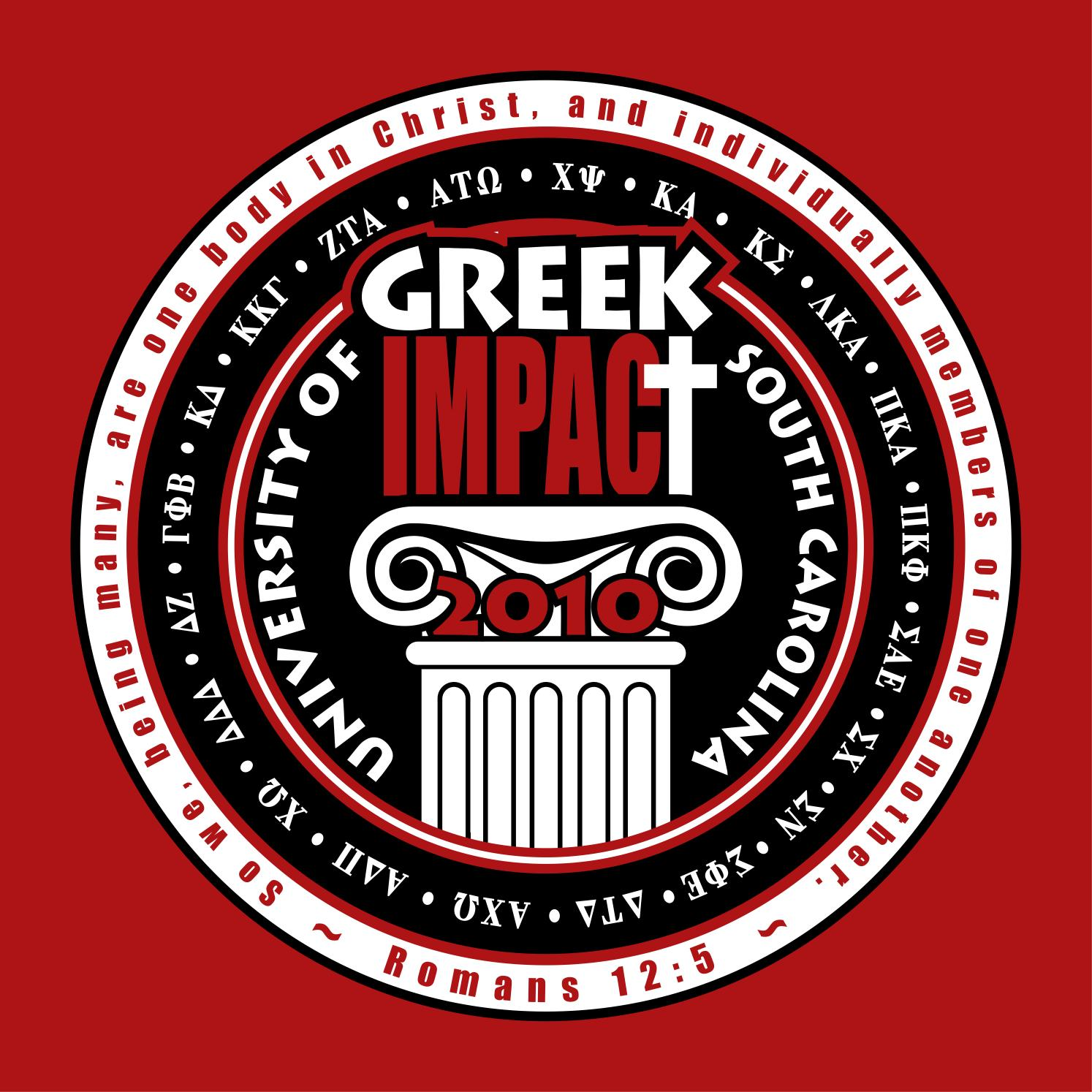 Greek Impact2010tshirt