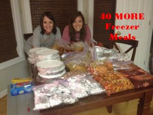 More Freezer Meals