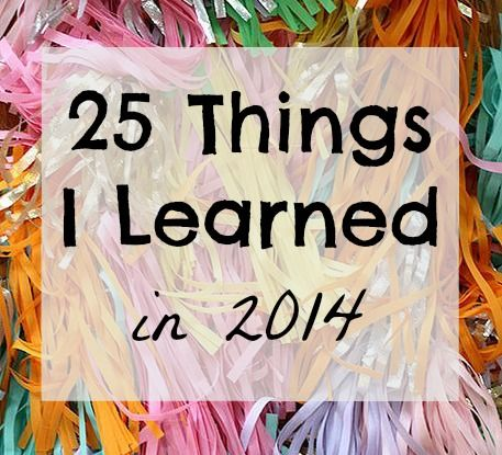25 things I learned square