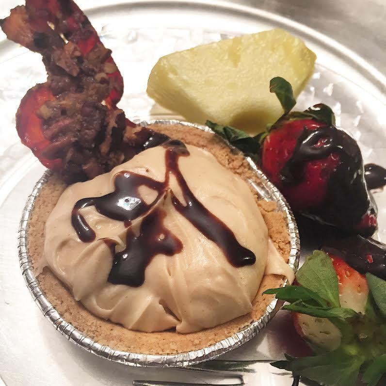 Peanut Butter Pie + Praline Pecan Bacon