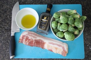De Nigris Balsamic Addiction = Bacon Roasted Balsamic Brussels Recipe