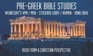 (How To Teach) How To Go Greek And Stay Christian